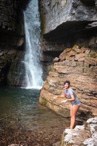 cascata torrente Vinadia