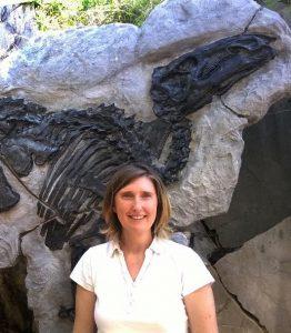 Tiziana Brazzatti scopritrice del dinosauro Antonio
