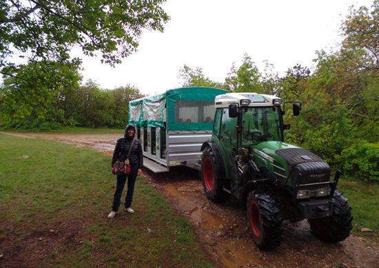 Torri di Slivia e l'agri-bus