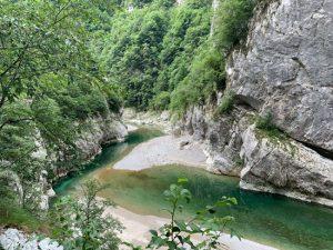 Il torrente Cellina
