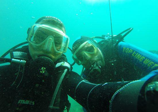 Torzeando in immersione a Sistiana
