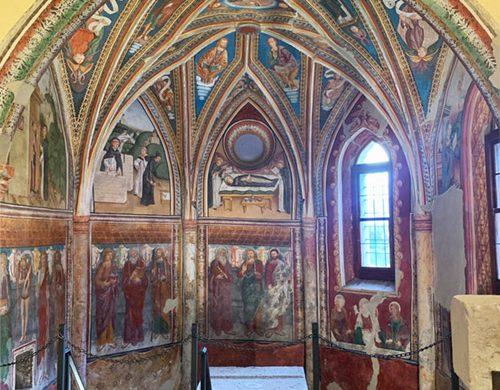 Affreschi nella chiesa di San Leonardo