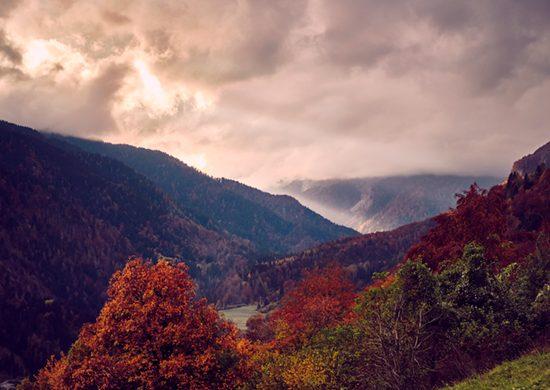 Cosa vedere in Val Pesarina: il panorama